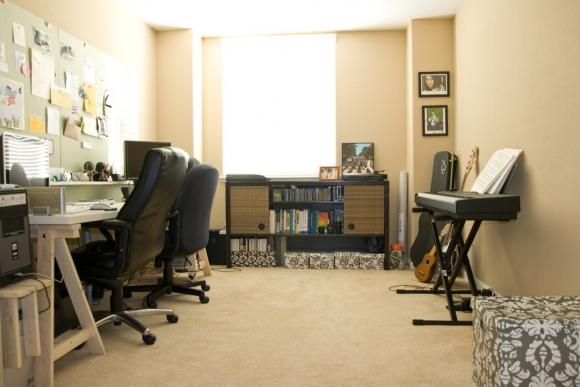 дизайн комнаты студента