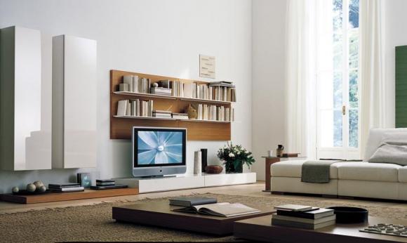телевизор в дизайне интерьера
