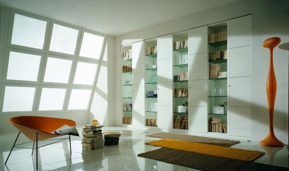 дизайн современной библиотеки