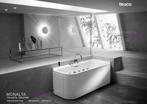 современные ванные