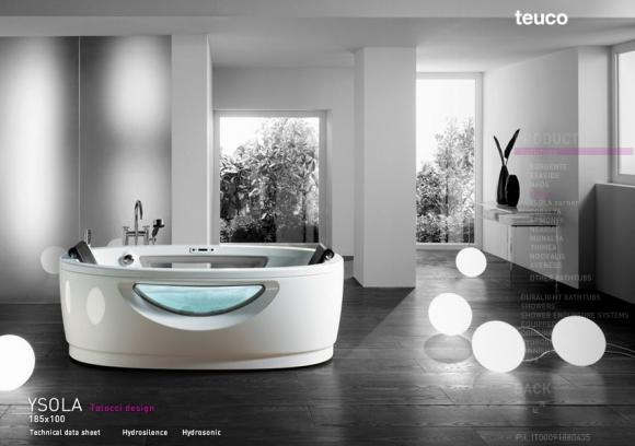 дизайн интерьера - ванные