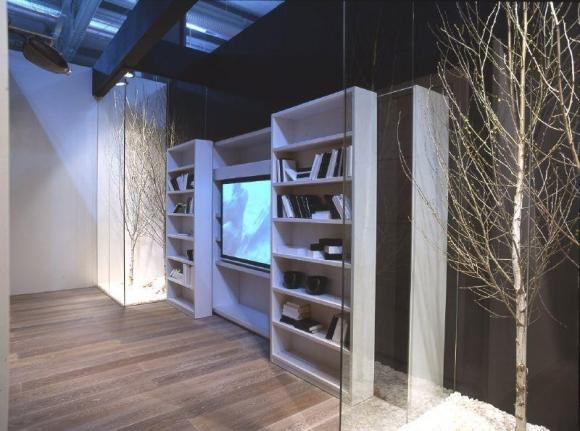 дизайн полок для книг