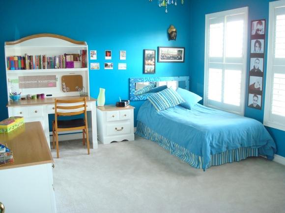 современная комната подростка