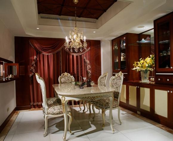 классическая мебель для столовой