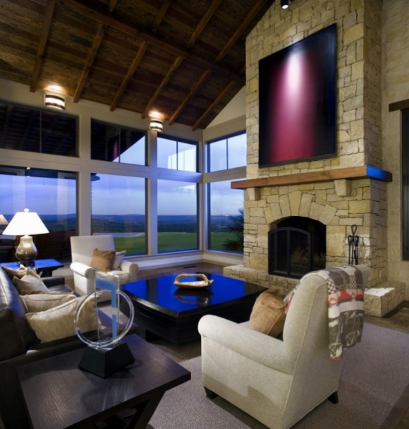 дизайн интерьера в американском деревенском стиле