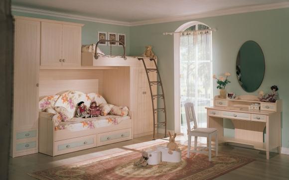 шикарная детская комната для девочки