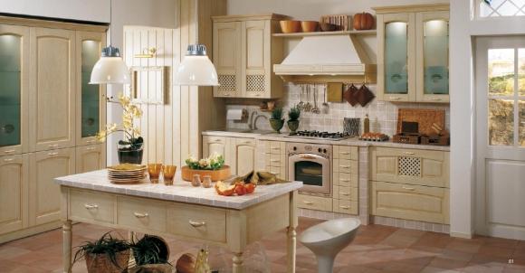 традиционный интерьер кухни