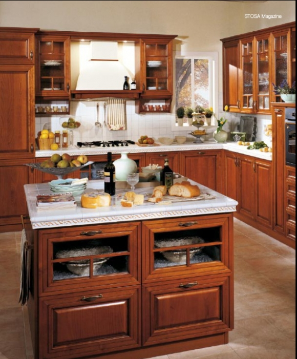 Интерьер кухни из жизни