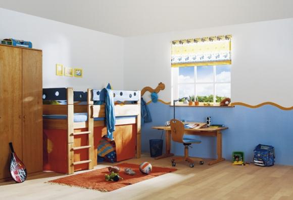 необычная детская комната