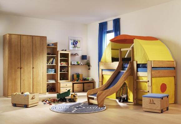 детская комната с палаткой