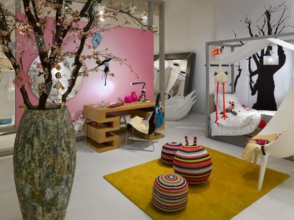 сказочный лес в дизайне детской комнаты