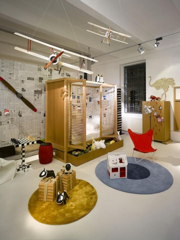 тема приключений и путешествий в дизайне детской комнаты