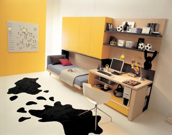 дизайн cпальни подростка